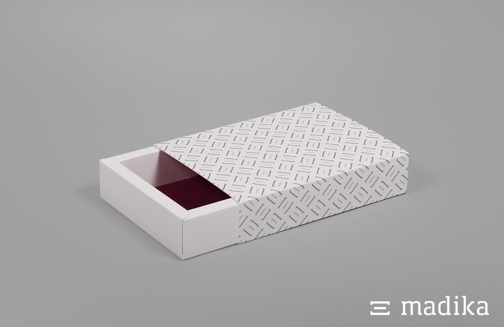 schuberschachteln offen din a6. Black Bedroom Furniture Sets. Home Design Ideas